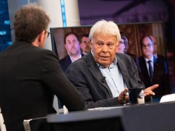 ¿Es Felipe González partidario de los indultos? El expresidente responde a Pablo Motos