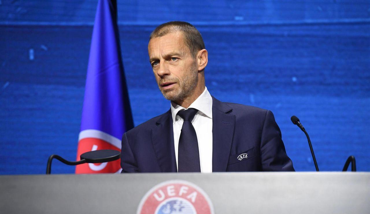 La UEFA abre expediente sancionador a Real Madrid, Barcelona y Juventus de Turín por la Superliga