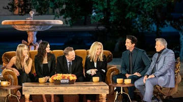 Los protagonistas de 'Friends: The Reunion'