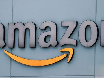 Logo del gigante tecnológico Amazon