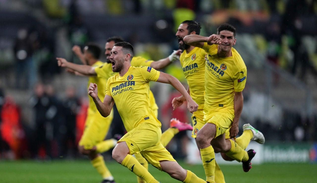 El Villarreal se proclama campeón de la Europa League tras ganar al Manchester en una épica tanda de penaltis