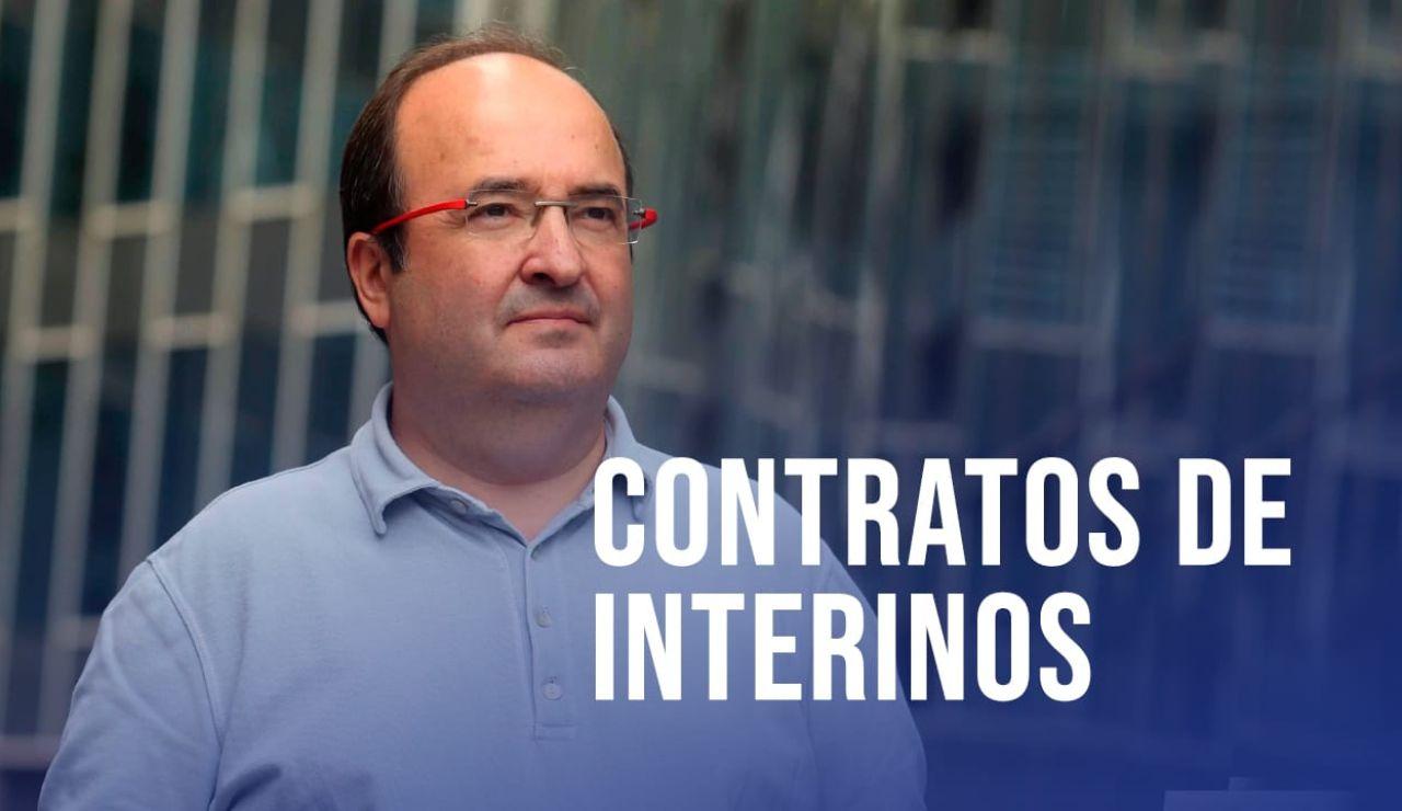 Reforma de contratos de interinos