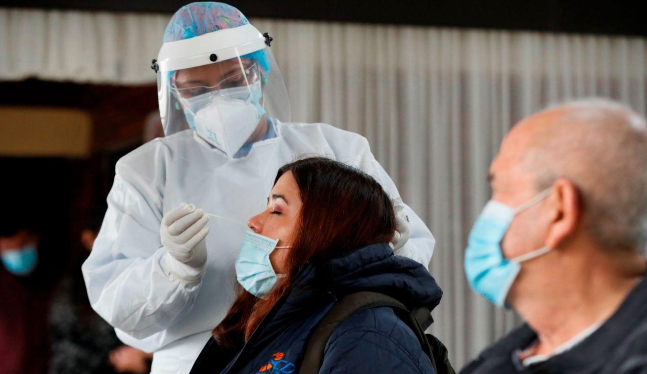 Prueba PCR de coronavirus en Colombia
