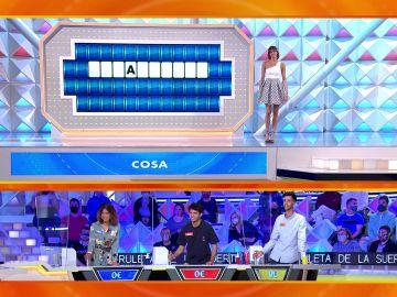 El bloqueo total de todos los concursantes ante un panel de la palabra casi imposible