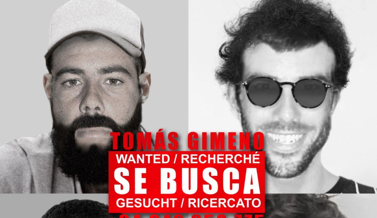 Publican nuevos retratos robot de Tomás Gimeno, el padre de las niñas desaparecidas en Tenerife