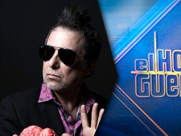Andrés Calamaro llega con su música el lunes 31 de mayo a 'El Hormiguero 3.0'