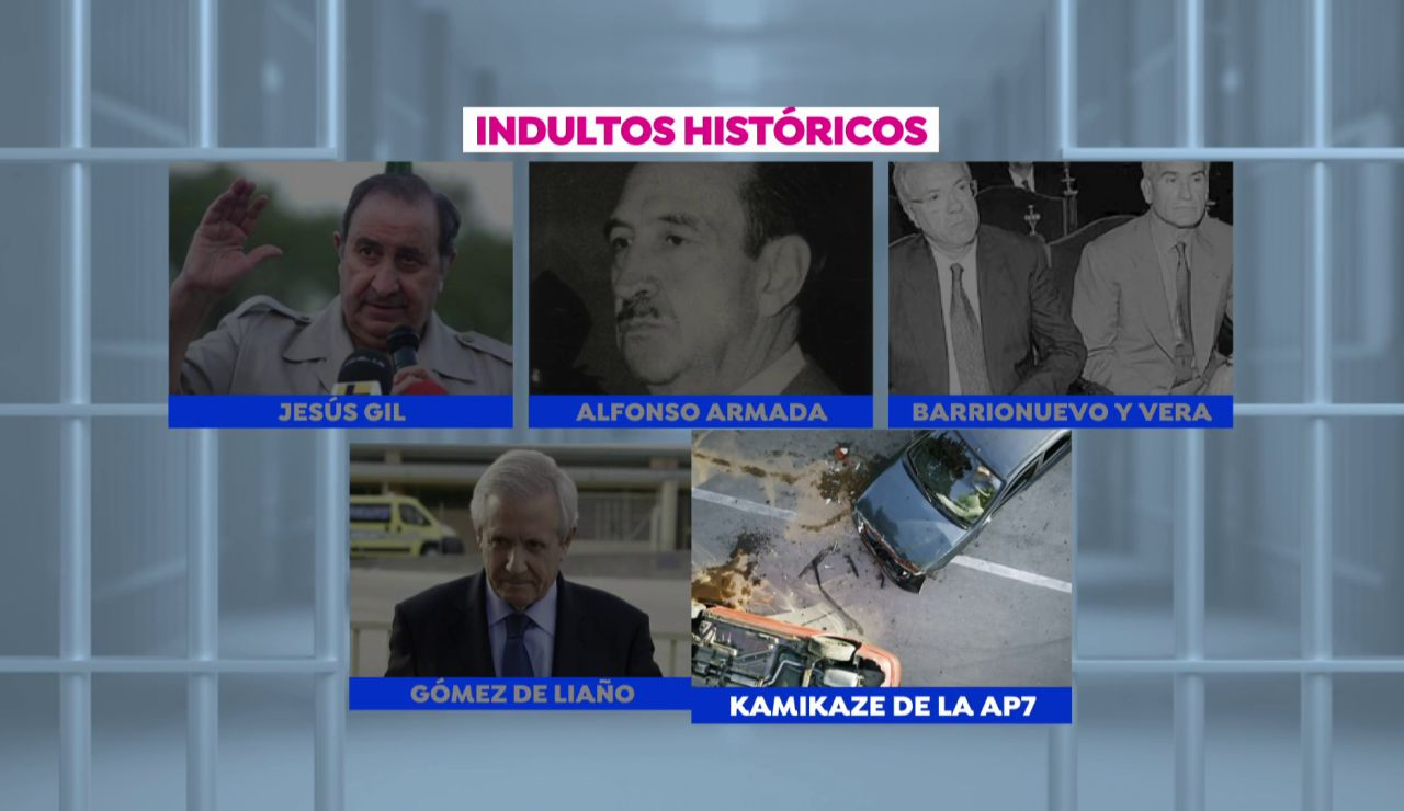 Otros indultos polémicos en la historia reciente de España: de Alfonso Armada a Jesús Gil