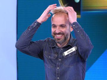 David juega su primer Duelo Final en '¡Ahora caigo!' por 43.001 euros