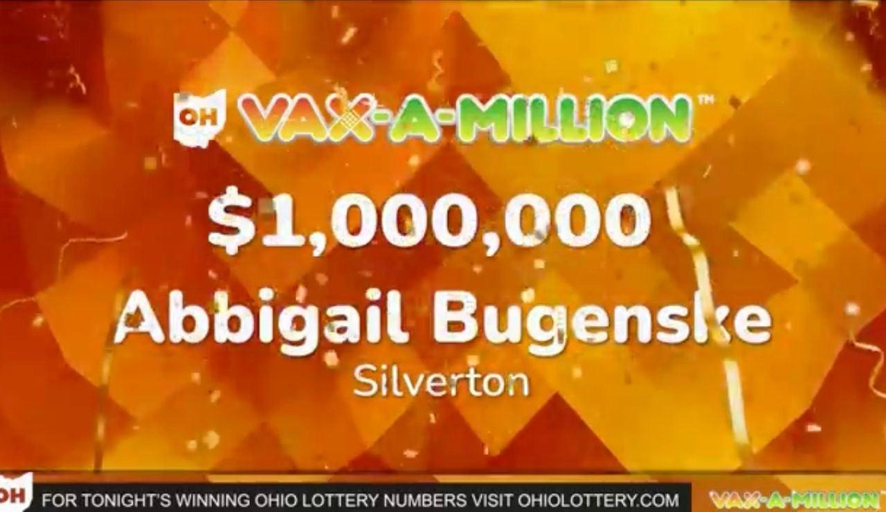 Una mujer gana 1 millón de dólares en una lotería para vacunados