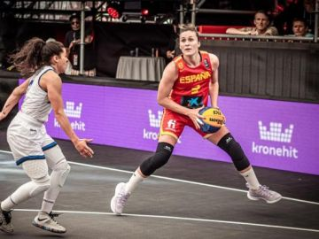 La selección españoña femenina 3x3 aspira a participar en los Juegos de Tokio