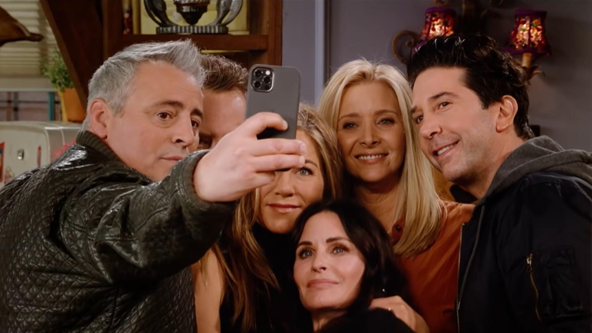 El cast de 'Friends' en la reunión