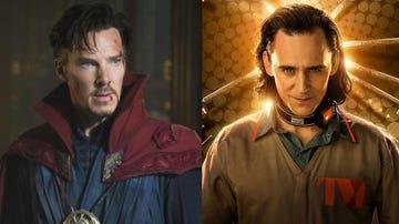 Doctor Strange y Loki de Marvel