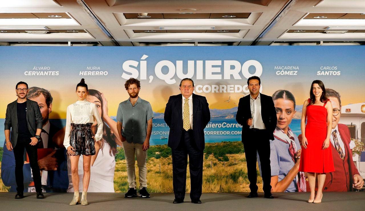"""La Asociación Valenciana de Empresarios (AVE), y el movimiento #QuieroCorredor presentan en València el cortometraje """"Sí, quiero (CORREDOR)"""""""