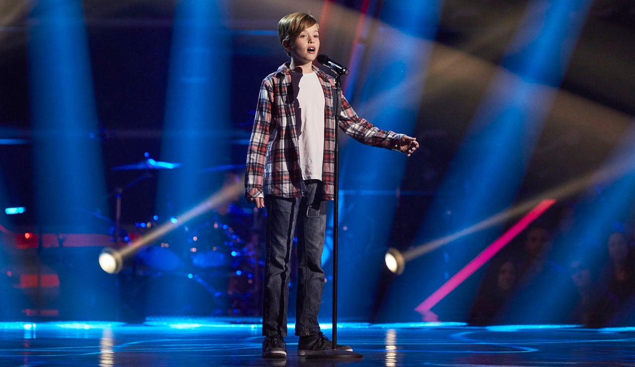Alain Sánchez canta 'Aire' en las Audiciones a ciegas de 'La Voz Kids'
