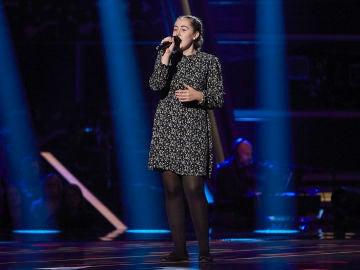 Claudia Goicoechea canta 'Berlín' en las Audiciones a ciegas de 'La Voz Kids'