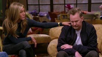 Jennifer Aniston y Matthew Perry en 'Friends: The Reunion'