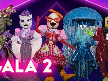 Cinco nuevas máscaras se enfrentan en la segunda gala de 'Mask Singer: adivina quién canta'