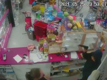 Atraco en una gasolinera a punta de pistola en Murcia