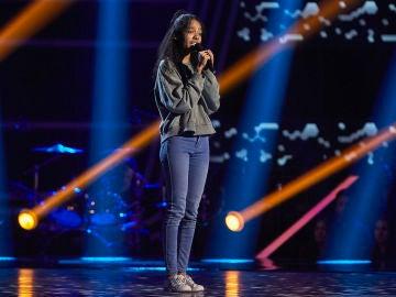 Carmen Ruiz canta 'You are not alone' en las Audiciones a ciegas de 'La Voz Kids'