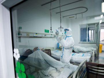 Un paciente ingresado en hospital por coronavirus