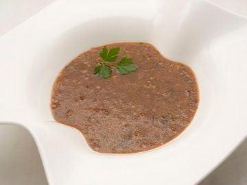 """Olarru zopa: sopa de pulpo seco """"extraordinaria"""" de Karlos Arguiñano"""