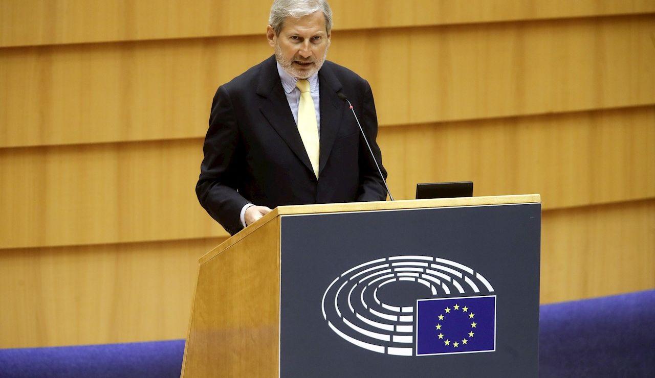 Johannes Hahn, comisario europeo de Programación Financiera y Presupuestos