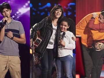 El cariño de los coaches y voces muy especiales en las cuartas Audiciones a ciegas de 'La Voz Kids'