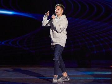 Erik Verdier canta 'And I am telling you I'm not going' en las Audiciones a ciegas de 'La Voz Kids'