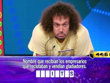 Miguelón, a una pregunta de 31.000 euros en el Duelo Final de '¡Ahora caigo!'