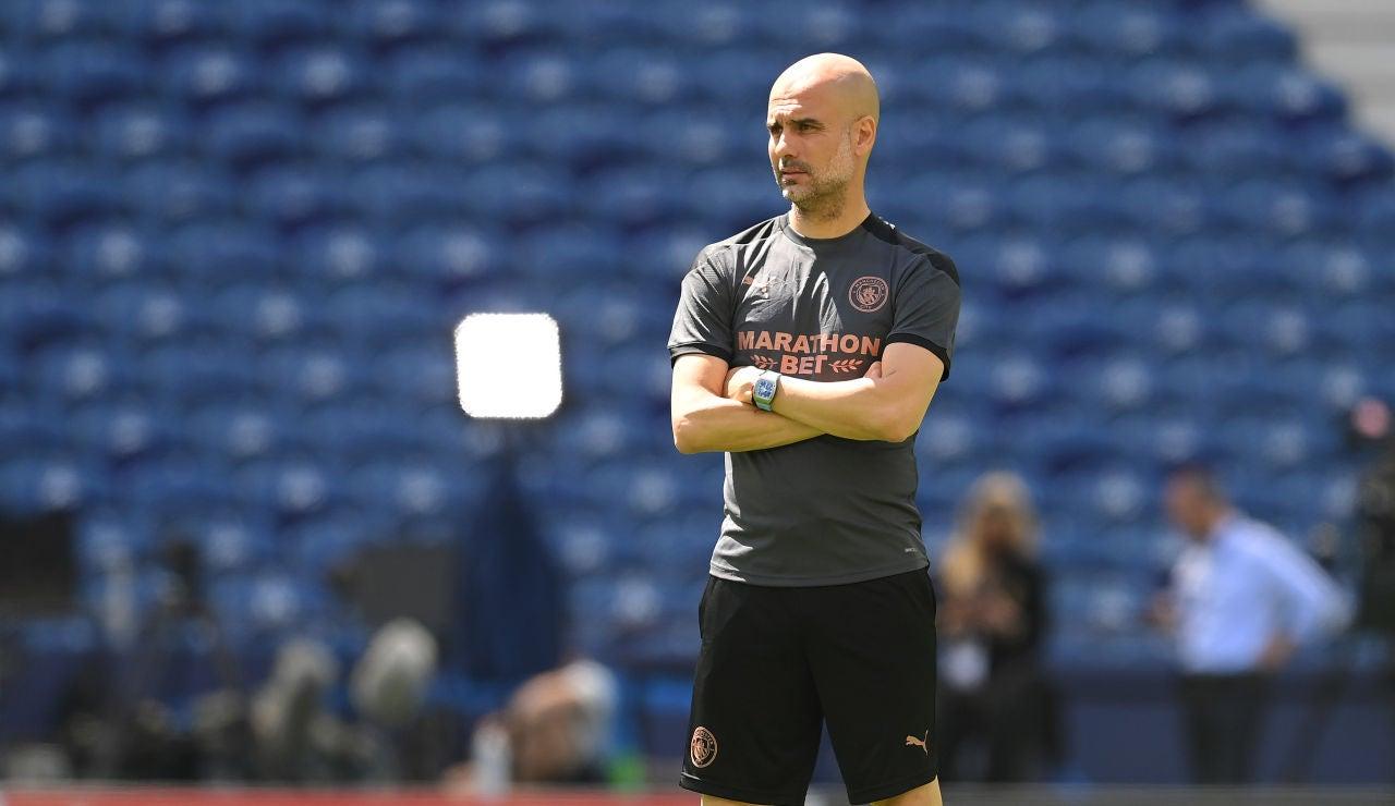 """Guardiola confirma su continuidad en el City antes de la final de Champions League: """"Este equipo me lo da todo"""""""