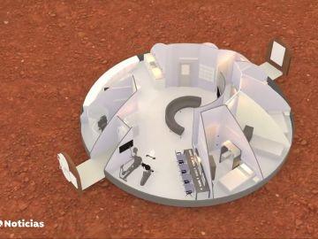 Científicos e ingenieros buscan cómo crear ciudades habitables en Marte