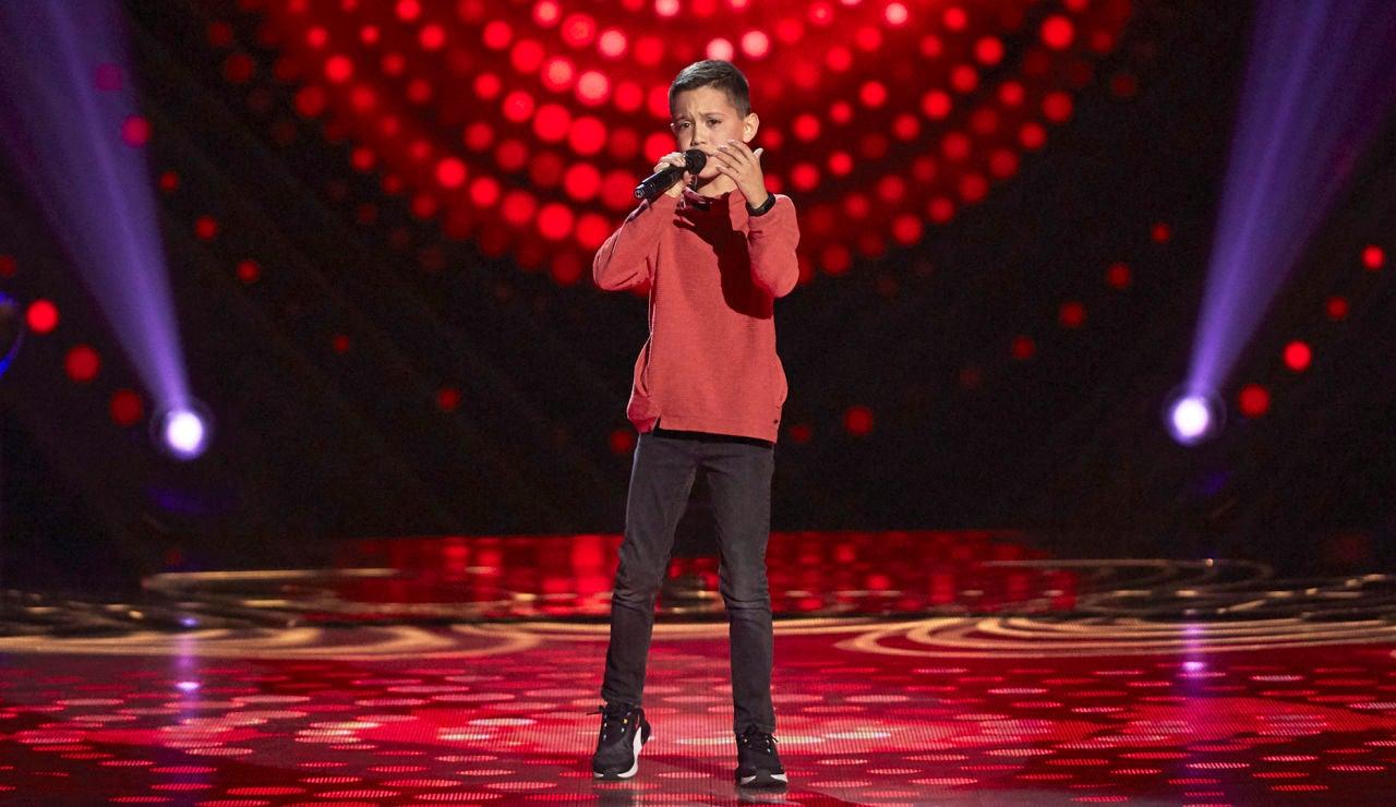 Lucas Mesa canta 'Seven years' en las Audiciones a ciegas de 'La Voz Kids'