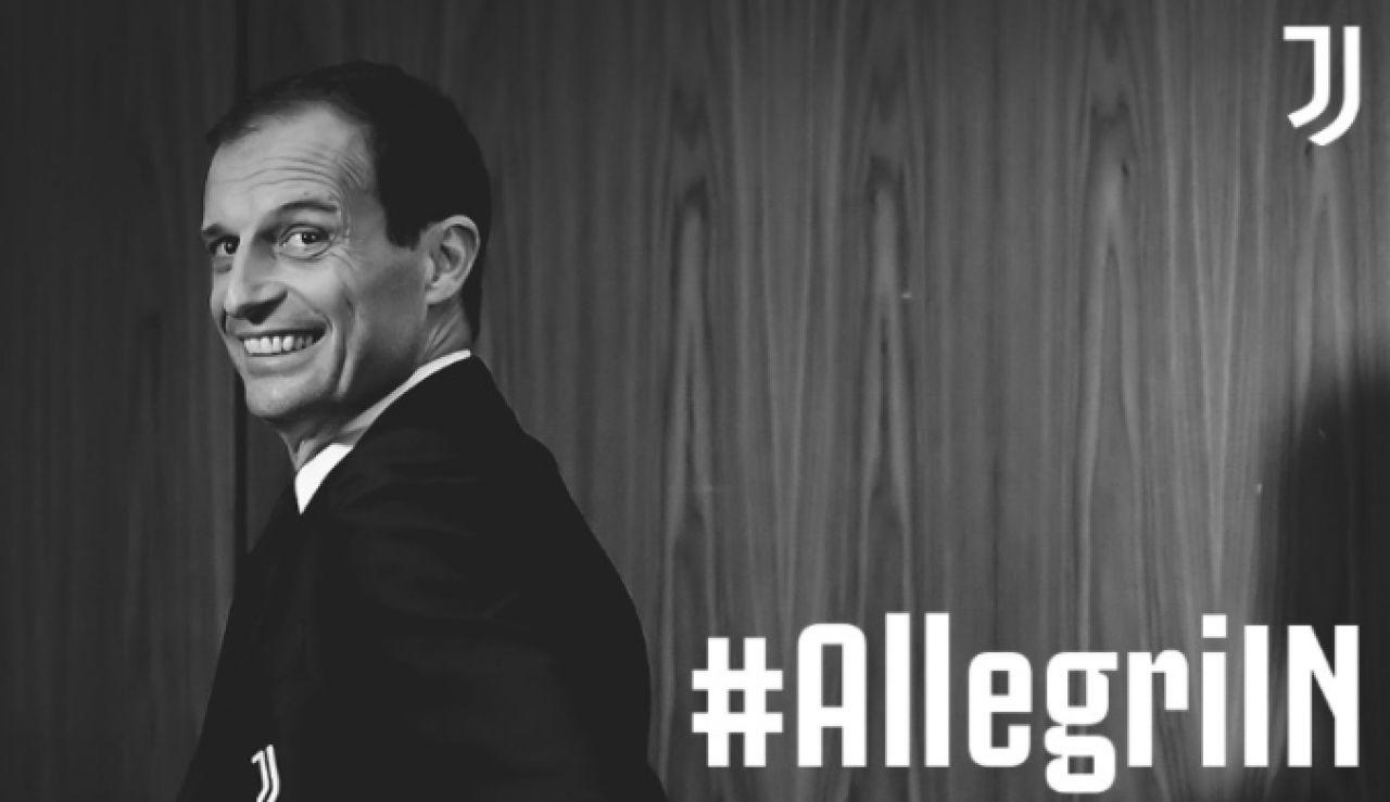 Oficial: Massimiliano Allegri, nuevo entrenador de la Juventus de Turín