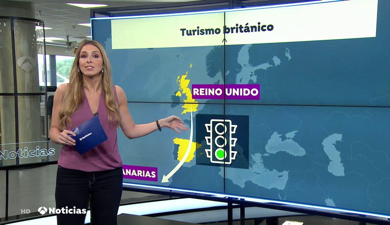 División entre españoles por la carta blanca que tienen los británicos para viajar a España