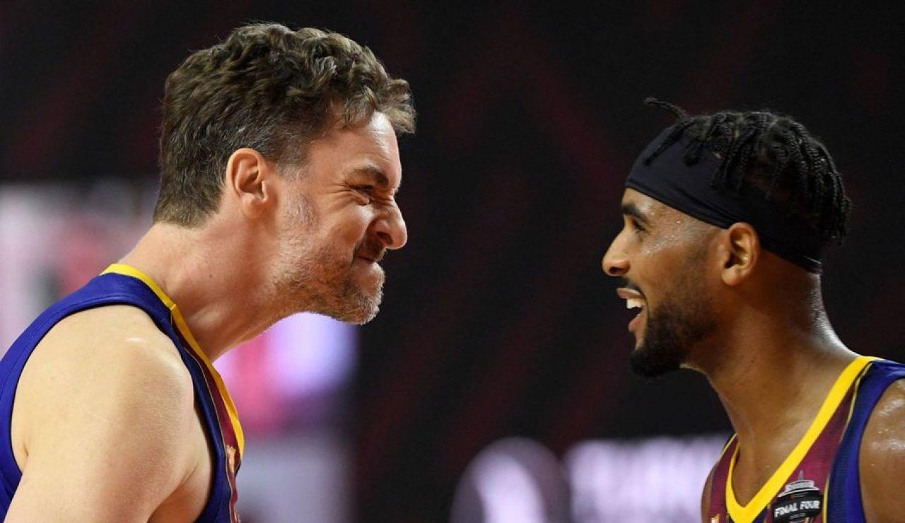 """Pau Gasol, antes de la final de Euroliga con el Barcelona: """"Espero que Kobe Bryant nos vea"""""""