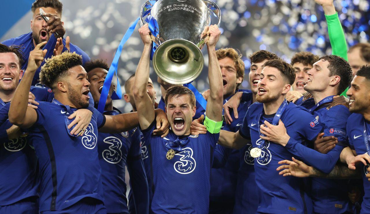 El Chelsea gana su segunda Champions League tras doblegar al Manchester City con un gol de Havertz