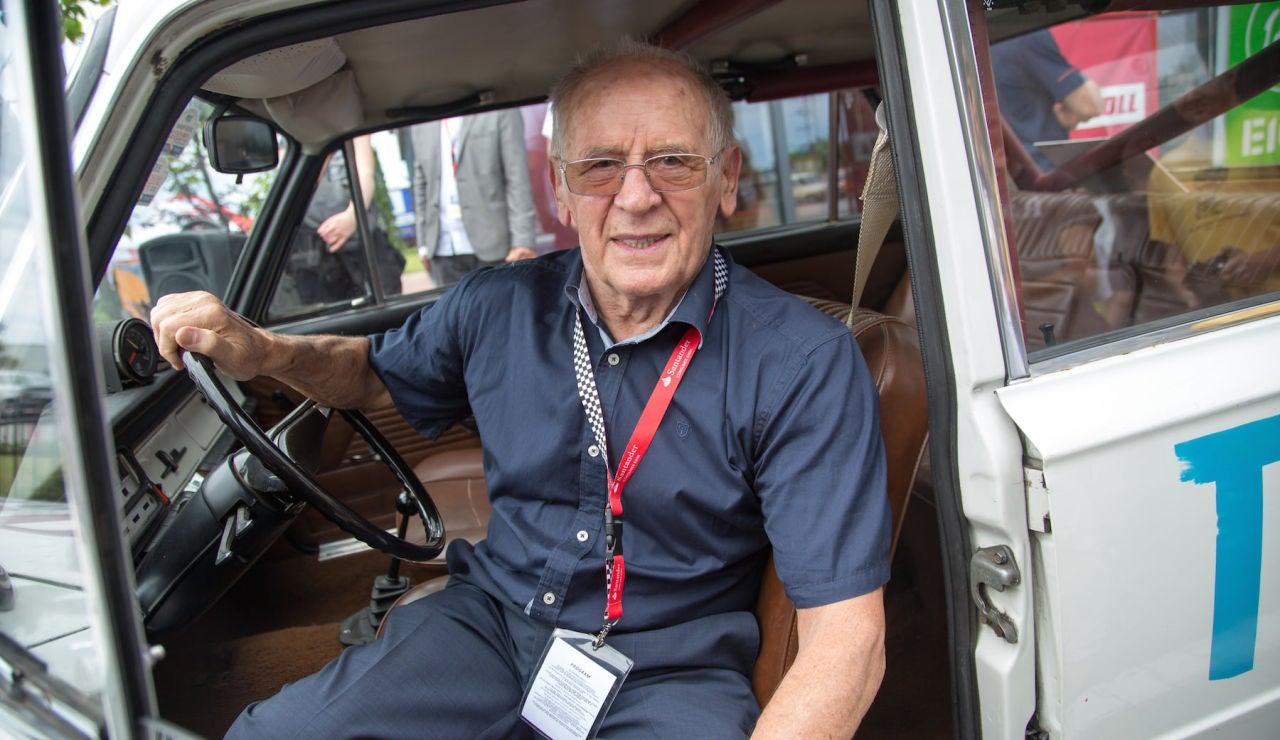 Sobiesław Zasada correrá el extremo Rally Safari con 91 años