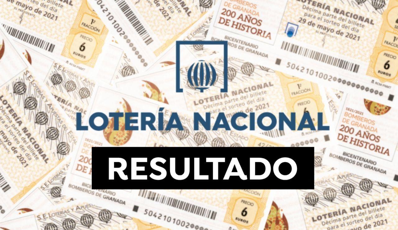 Lotería Nacional: Comprobar resultado y sorteo de hoy sábado 29 de mayo, en directo