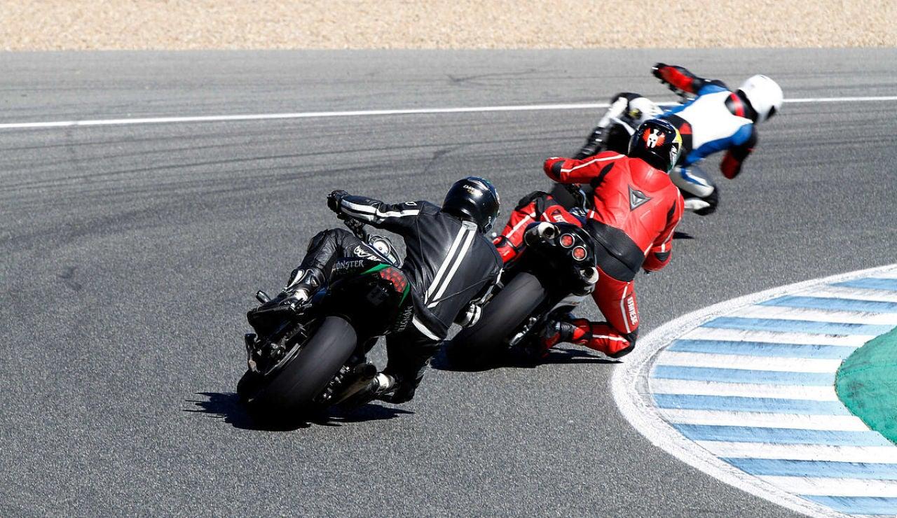 Muere un motorista tras sufrir una caída en el circuito de Jerez de la Frontera