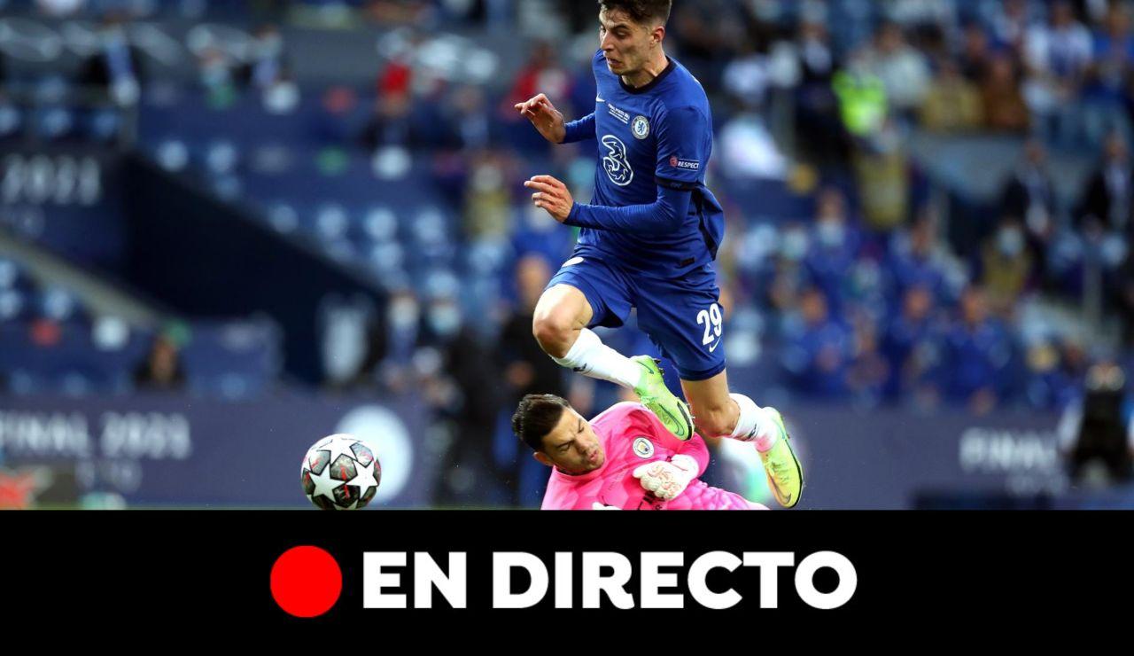 Manchester City - Chelsea: Resultado, en directo online (0-1)