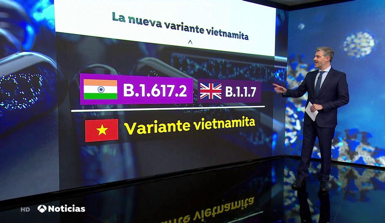 La peligrosa variante del coronavirus de Vietnam: híbrido entre la mutación india y la británica