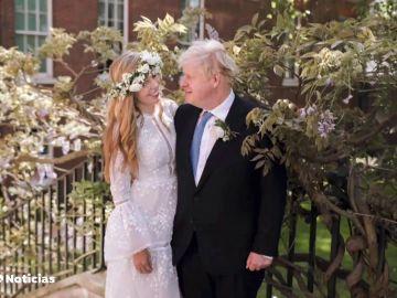 Boris Johnson se casa en secreto con su prometida Carrie Symonds