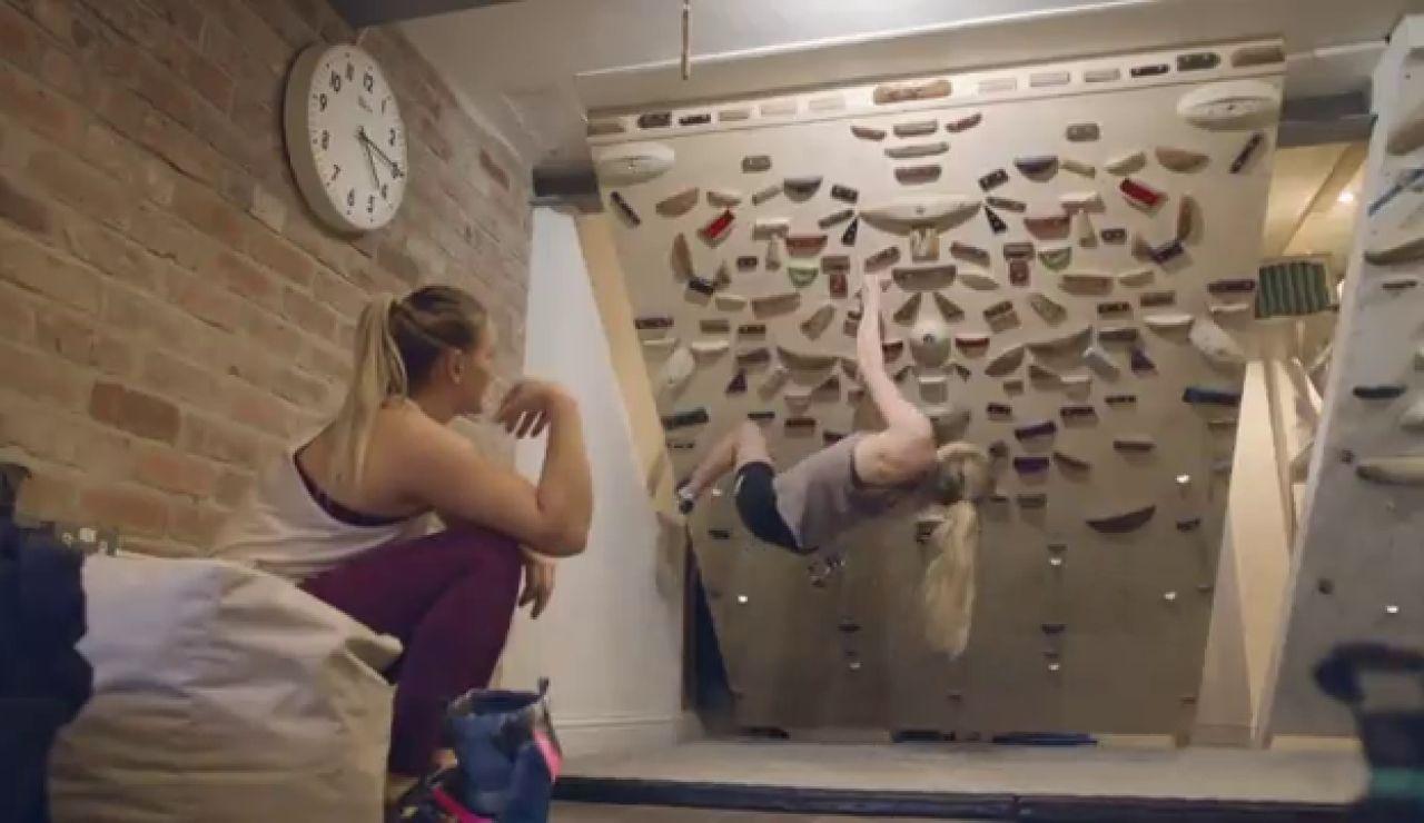 El secreto de Shauna Coxsey de cara a los Juegos Olímpicos de Tokio está en el sótano de su casa
