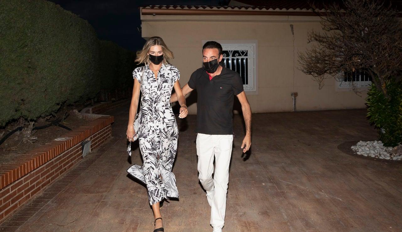Ana Soria y Enrique Ponce, juntos ante las cámaras