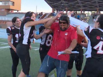 Las Rozas Black Demonds son campeonas de la Liga de fútbol americano