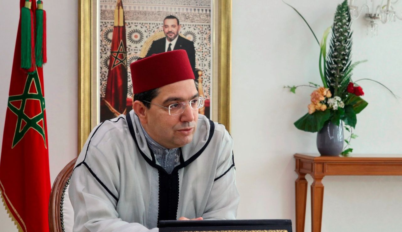 El ministro de Exteriores de Marruecos, Nasar Burita