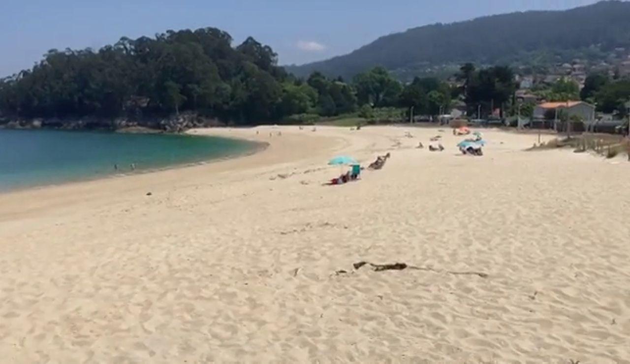 Una playa de Galicia