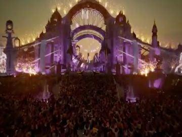Realidad virtual, festival Tomorrowland