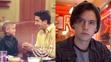 Cole Sprouse en 'Friends' y 'Riverdale'