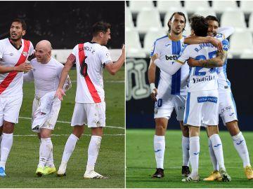 Así están los Playoffs de ascenso a la Liga Santander: Leganés - Rayo y Almería - Girona
